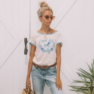 🦄 SPELL Cool Blue Baby Tee
